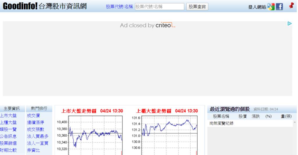 台灣股市資訊網