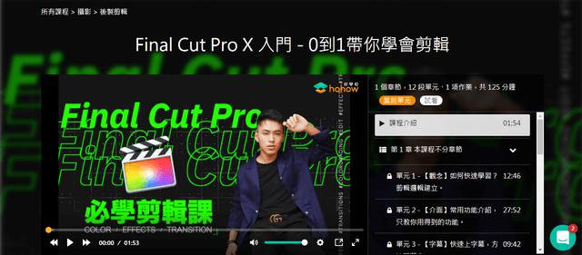 Final Cut Pro X 入門